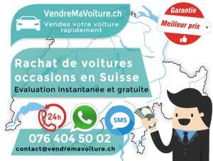 Evalutation de votre voiture en Suisse instantanée et gratuite