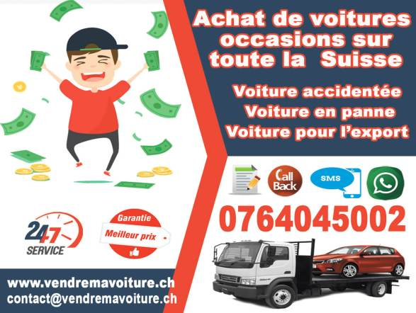 Rchat voiture occasion suisse