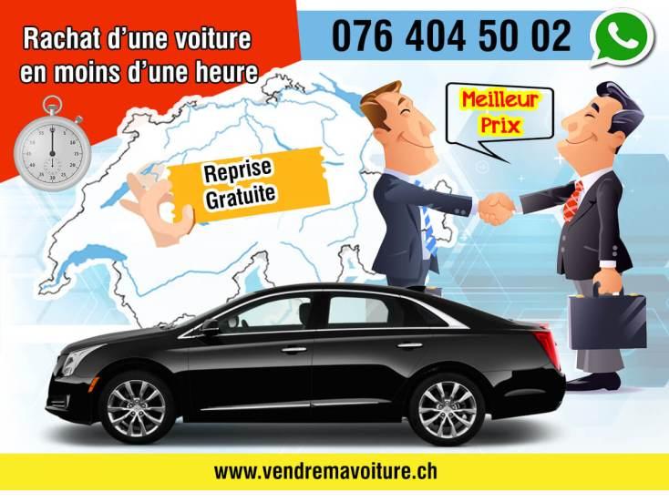Rachat d'une voiture en moins d'une heure partout en Suisse