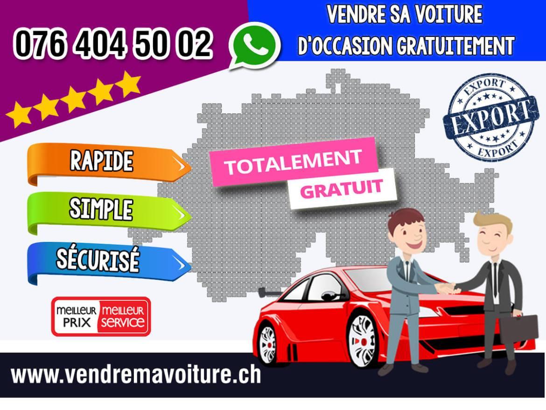 Vendre sa voiture d'occasion gratuitement en Suisse