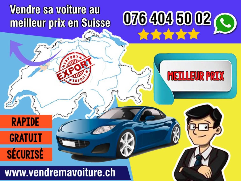 Vendre sa voiture au meilleur prix partout en Suisse