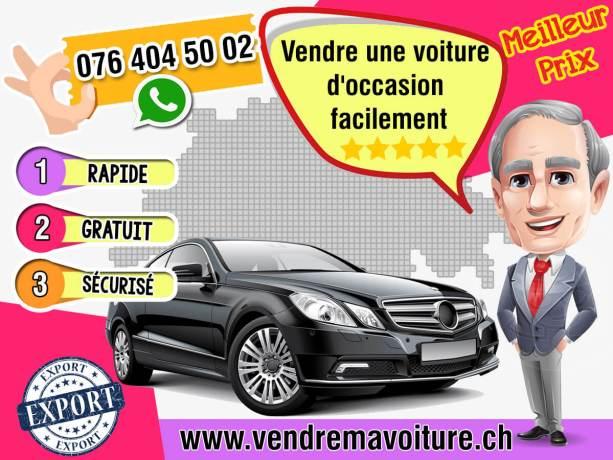 Vendre une voiture d'occasion facilement en Suisse