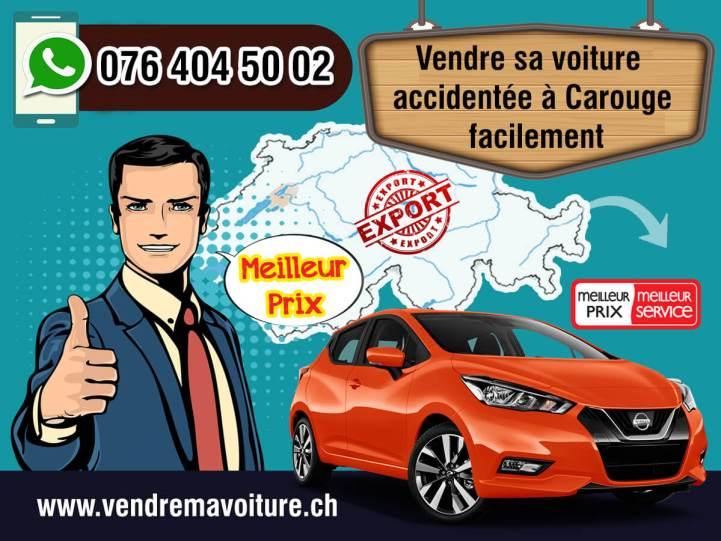 Vendre sa voiture accidentée à Carouge
