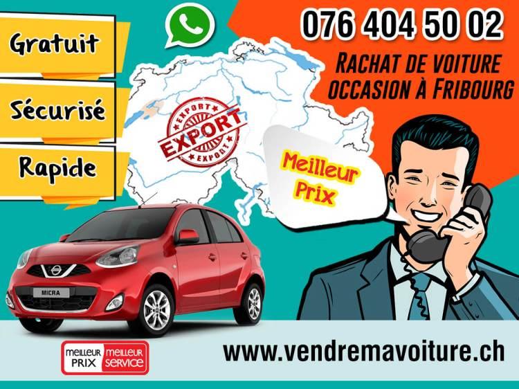 Rachat de voiture occasion à Fribourg