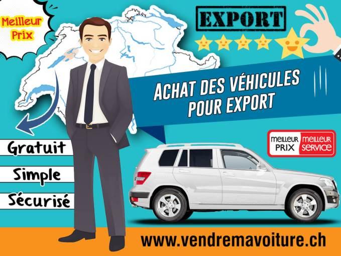 Achat des véhicules pour export