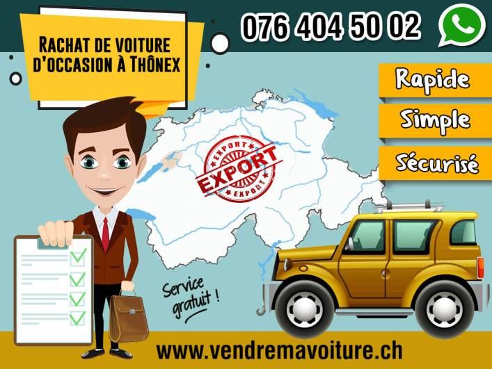 Rachat de voiture d'occasion à Thônex