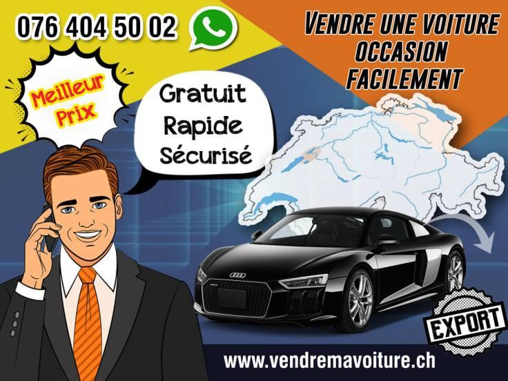 Vendre une voiture occasion facilement en Suisse
