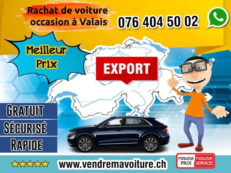 Rachat de voiture occasion à Valais