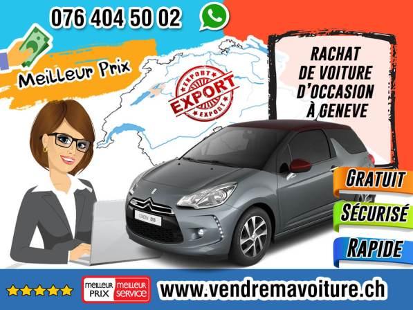Rachat de voitures d'occasion à Genève
