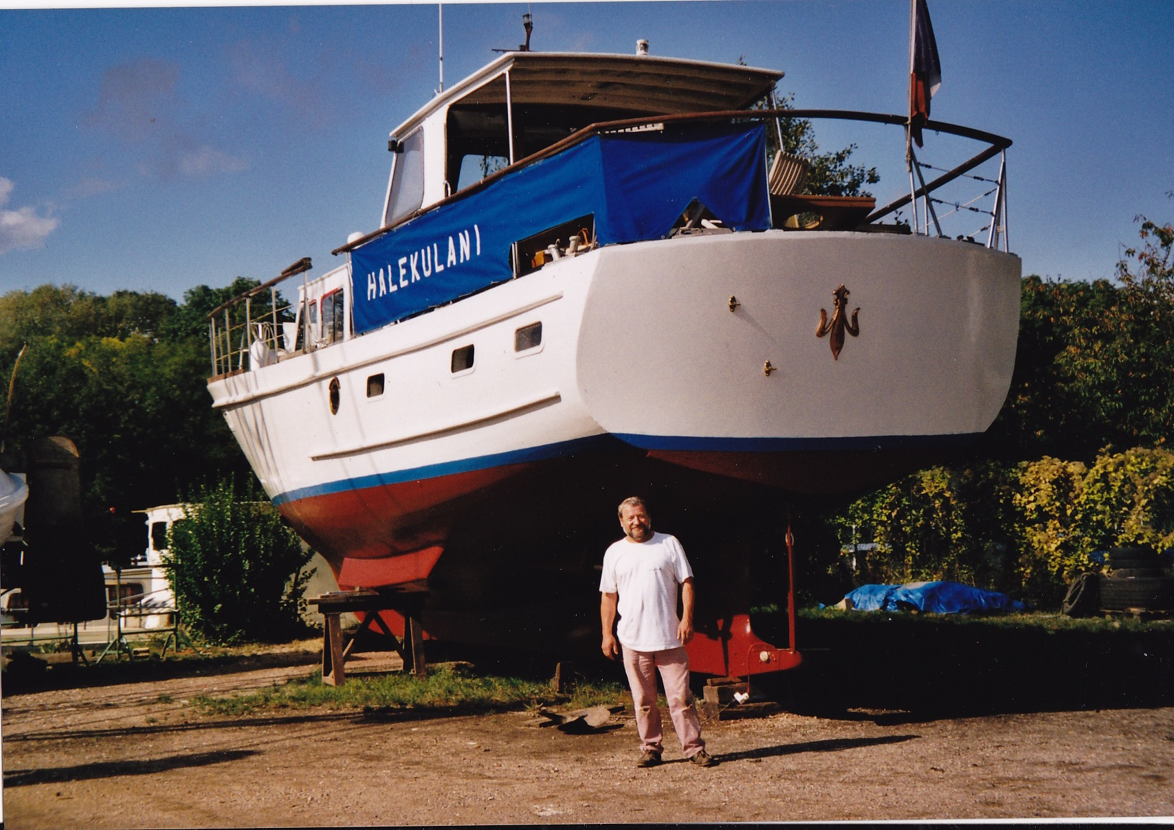 Yacht Type Fleur De Lys 52 Chantier Dagless 1965