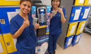 <b>VendShare - CareWithCoffee - Nurses Are Happy With Our Free Coffee</b>