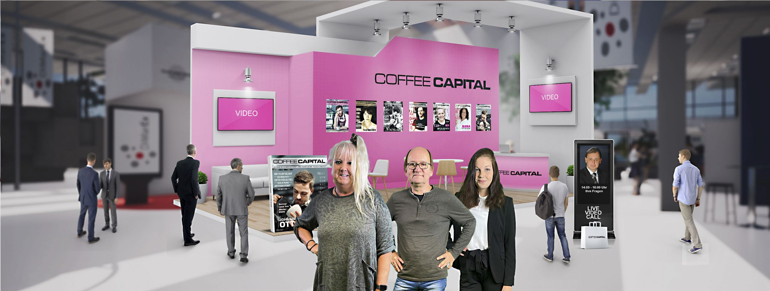Coffee Capital endtra Vending Trade Festival Deutschland