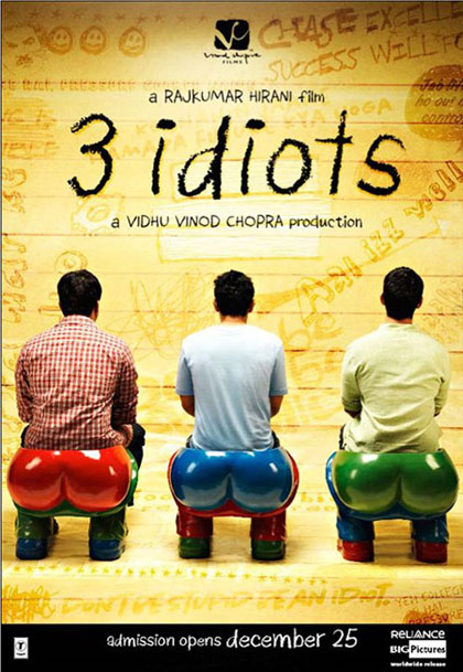 3 Idiots Most Inspiring, Educating and Motivating Movies i ever watched
