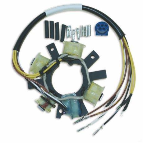 Johnson/Evinrude 10-60hv 1977-05 staattori. Johnson /Evinrude CDI-Electronics staattorit Veneakselisto.com