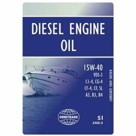 Moottori öljy 15w-40-Volvo Penta-Veneakselisto.com