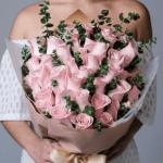 Rose Pink flower 35, Venera Flowers, online flower delivery dubai