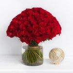 Rose Red 101 Flower, Venera Flowers, online flower delivery dubai