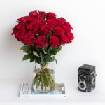 Rose Red Vase 39 Flower, Venera Flowers, online flower delivery dubai