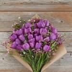 Tulip Purple Flower, Venera Flowers, online flower delivery dubai