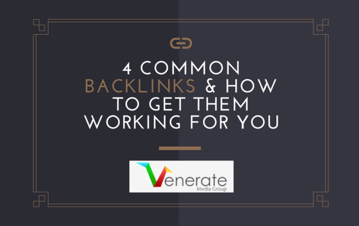 Cover image for Common Backlinks & How To Get Them Working For You