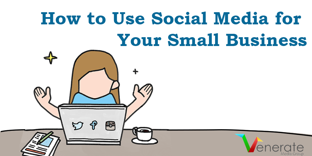 Featured image for the article called How to use social media for your business.