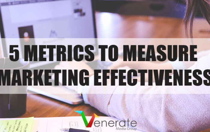 Featured image for an article called 5 Metrics to Measure Marketing Effectiveness