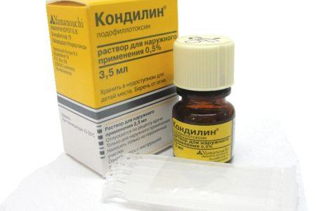 Liečba papilomónov propolisom