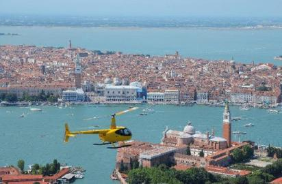 Venice helicopter tour