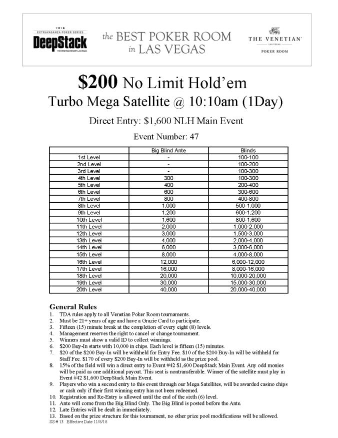 DSE I $200 NL Turbo Mega Satellite