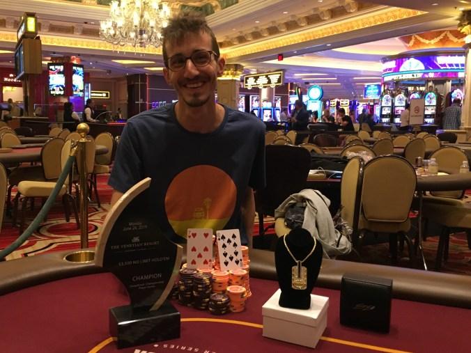 Ran Ilani Wins Event 72 And 419 731 Venetian Poker Room