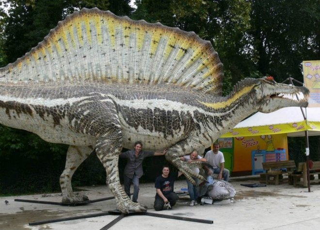 Spinosaurus_work in progress_004_foto Geomodel