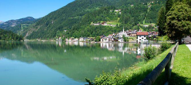 Cosa fare al Lago di Alleghe con i bambini