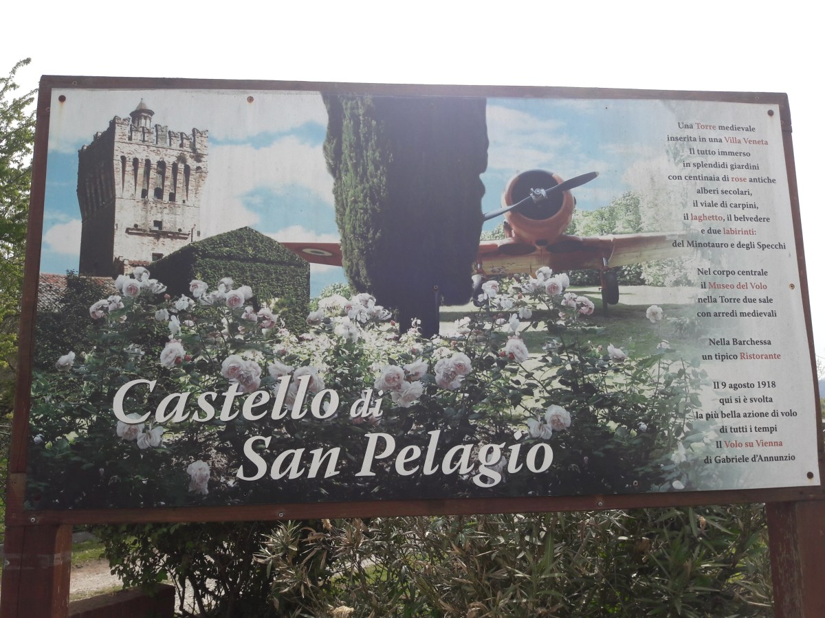 Castello di San Pelagio: Museo del Volo e Labirinti