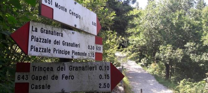 Con torcia e scarponcini sulle gallerie di Monte Cengio: il sentiero di arroccamento