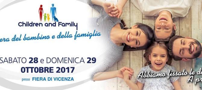 Torna Children and Family a Vicenza il 28-29 Ottobre 2017