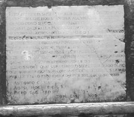 Sant'Andrea della Zirada Esecutori contro la Bestemmia