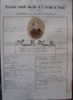 Cartella clinica di Vianello Vianelli