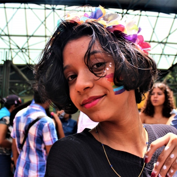 Younger generations filled this year's Pride March