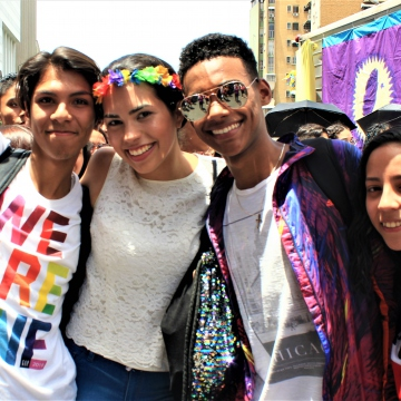 """LGBTQI youth are all about being """"Out and Proud"""""""
