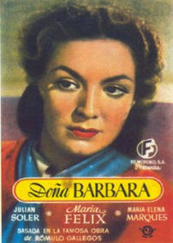 Affiche du film Dona Barbara