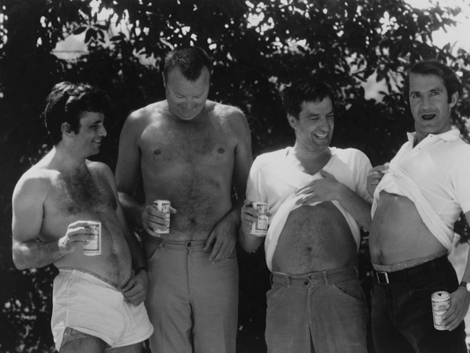husbands-a-comedy-about-life-death-and-freedom-1970-006-topless-husbands-black-and-white-1000x750
