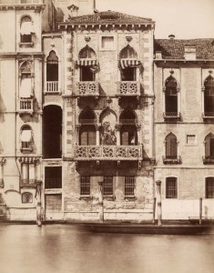 Palazzo Contarini Fasan circa 1880's