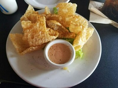 Pork Rinds at Darrell's Restaurant