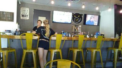 Inside the Restaurant Darrell's in Venice FL