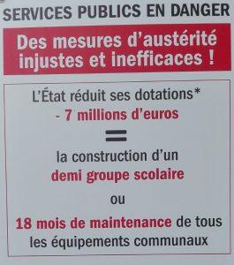 Affiche austérité