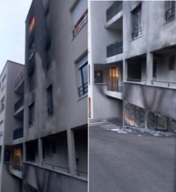 feu appartement