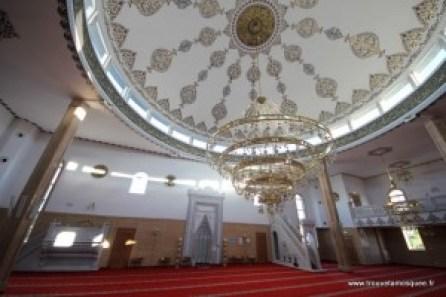 interieur mosque turc