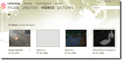 MPEG4 Video playing in Zune Player