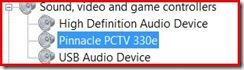 Pinnacle PCTV 330e Driver for Vista x64