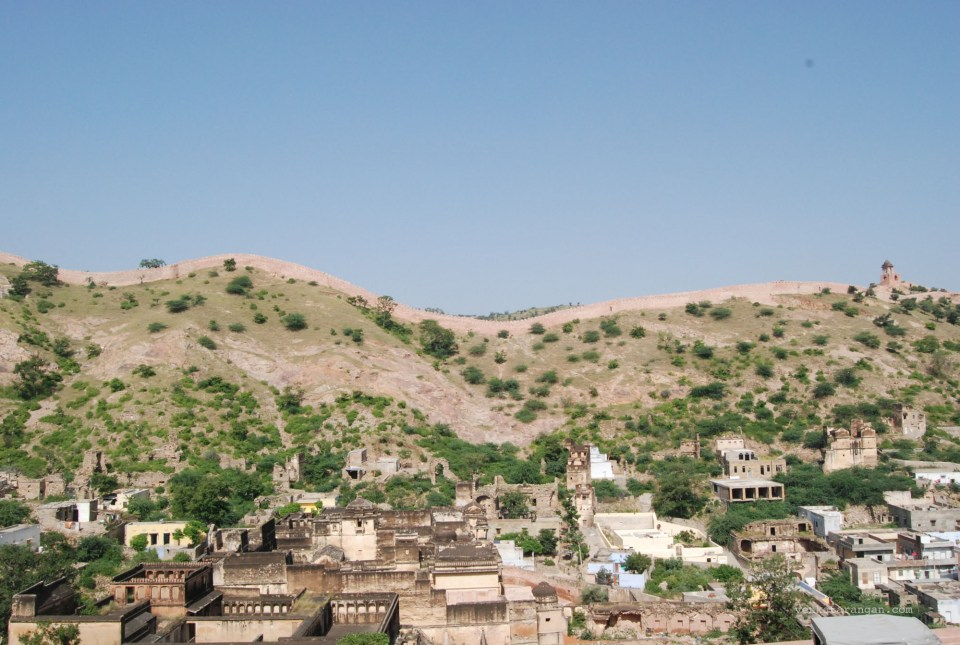 View of Amer (Amber) Fort